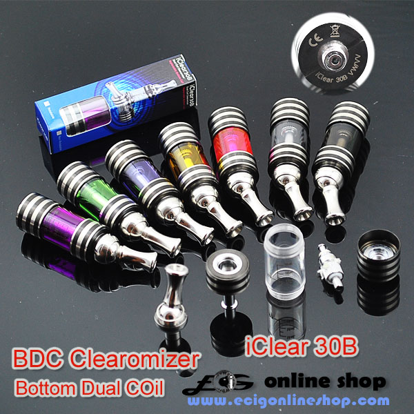 Innokin iClear30B Clearomizer(Bottom Dual COil) free shipping
